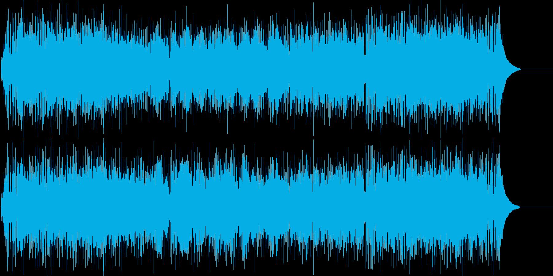 躍動感溢れる爽やかなポップ/テーマの再生済みの波形