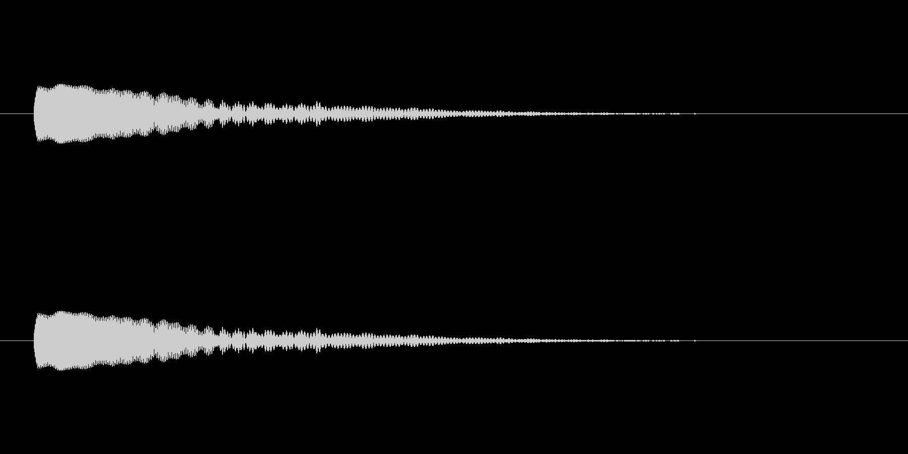 【光る04-1】の未再生の波形