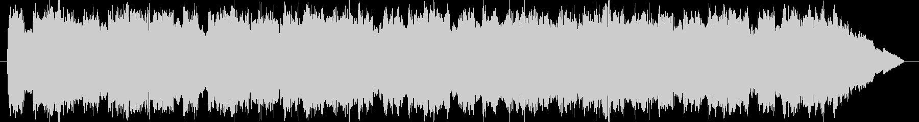 緊急自動車サイレン音 タイプBの未再生の波形