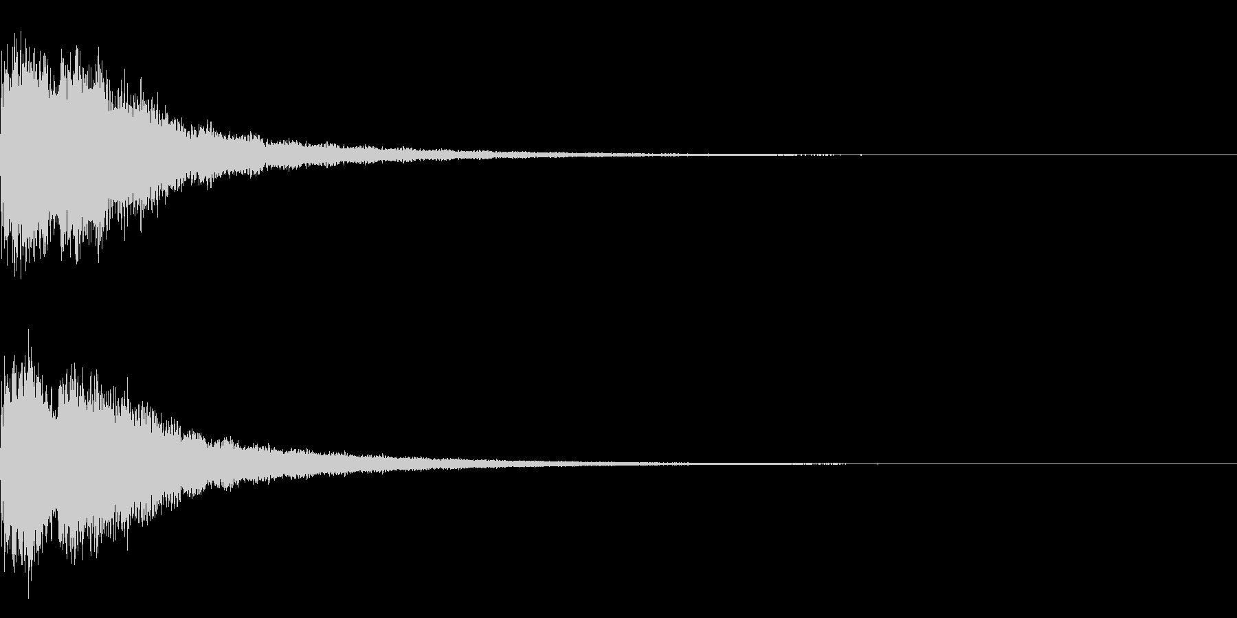 【キラキラ21】星の輝きに最適な効果音!の未再生の波形