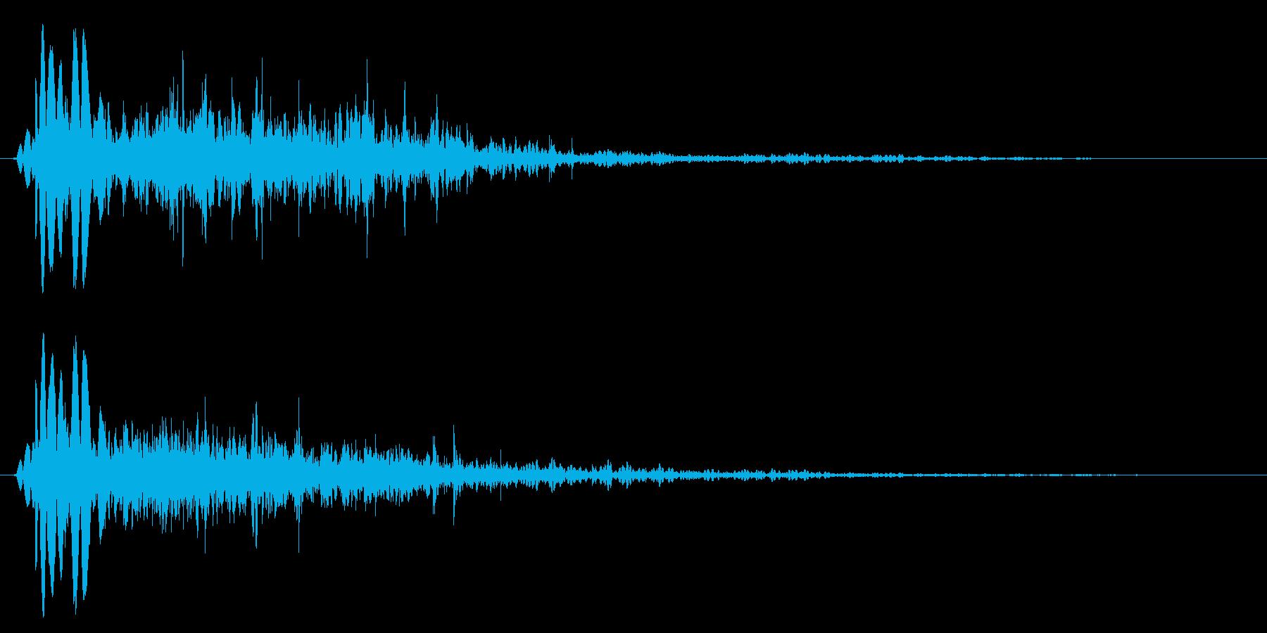 燃え盛る炎・火炎系の魔法(中レベル)sの再生済みの波形