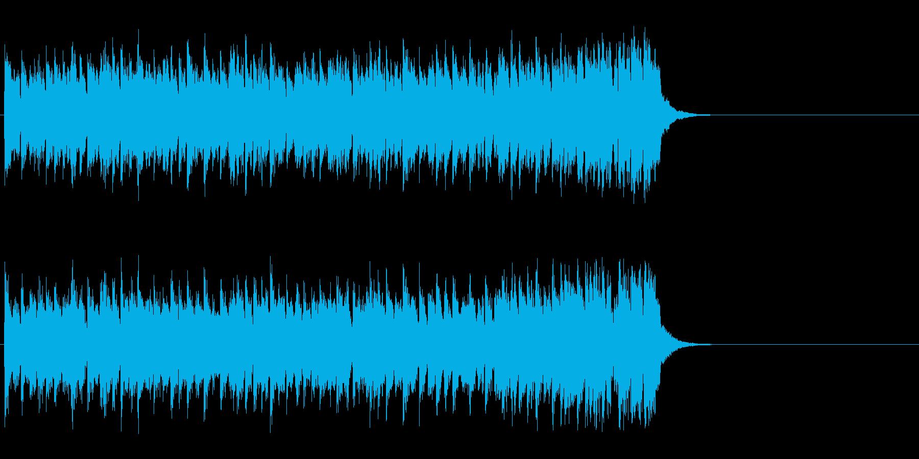 心が弾むOP向けポップス(サビ)の再生済みの波形