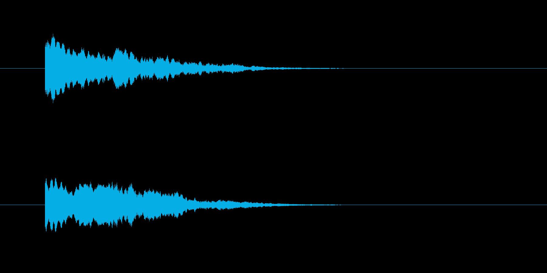 【Fantasy】決定【カーソル】の再生済みの波形