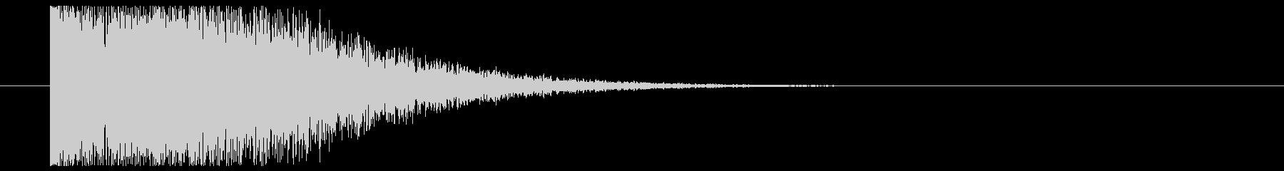 ロゴ表示_セットOKの未再生の波形