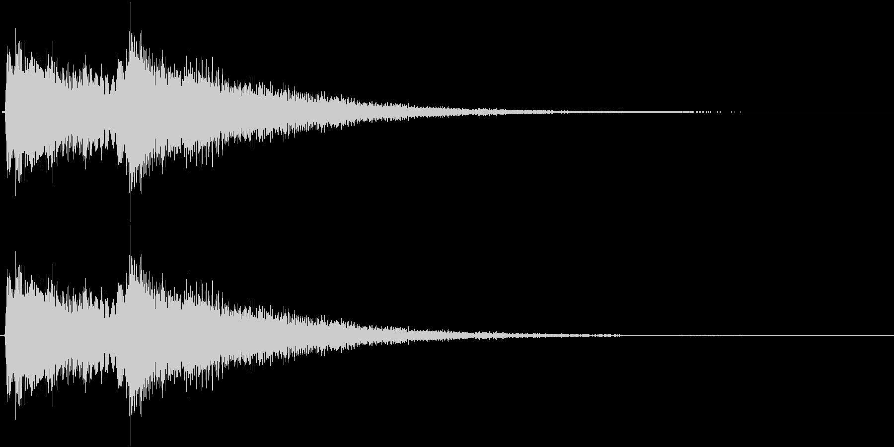 ティロンティローン(決定、ゲーム、ロゴ)の未再生の波形