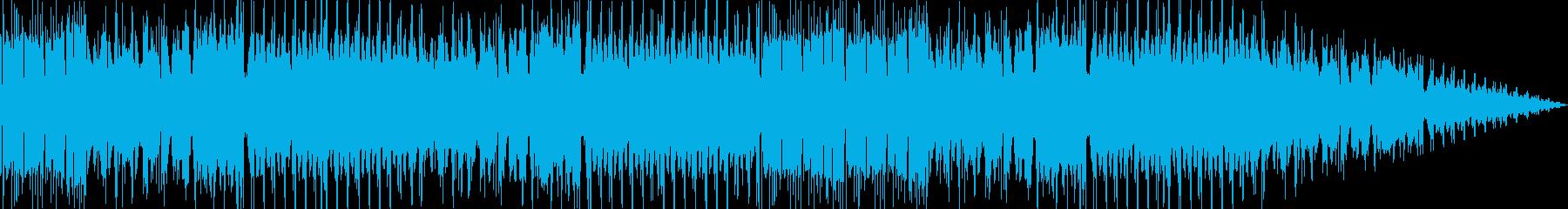 チップチューンによるジャズフージョン系曲の再生済みの波形