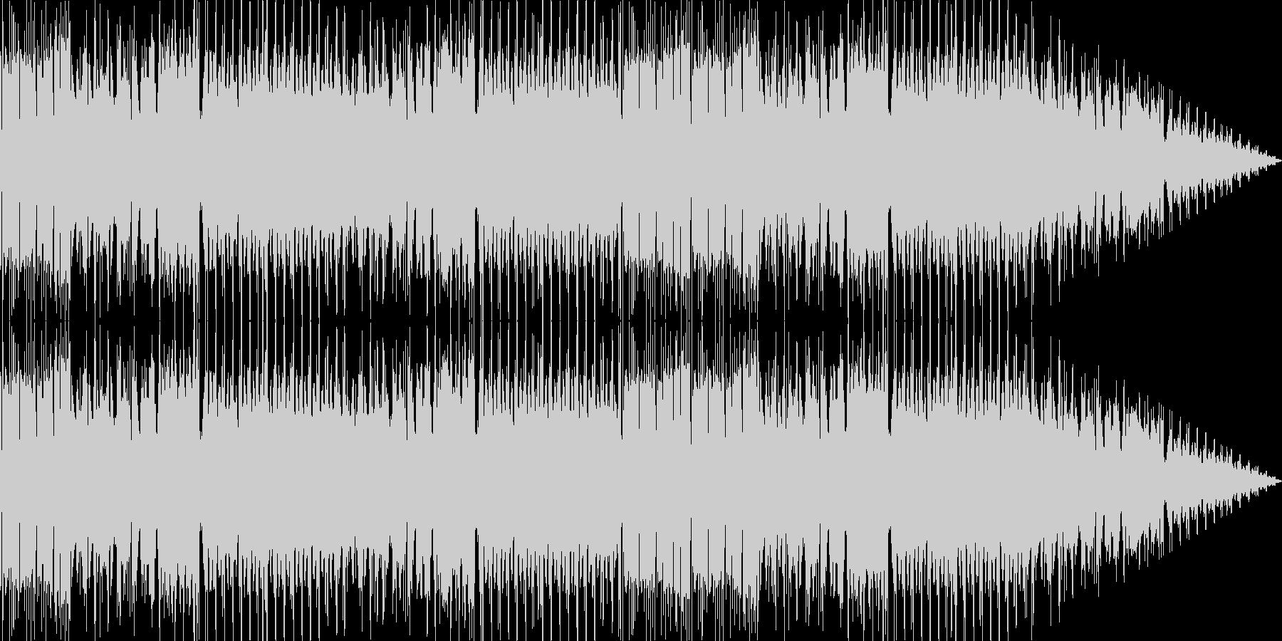 チップチューンによるジャズフージョン系曲の未再生の波形
