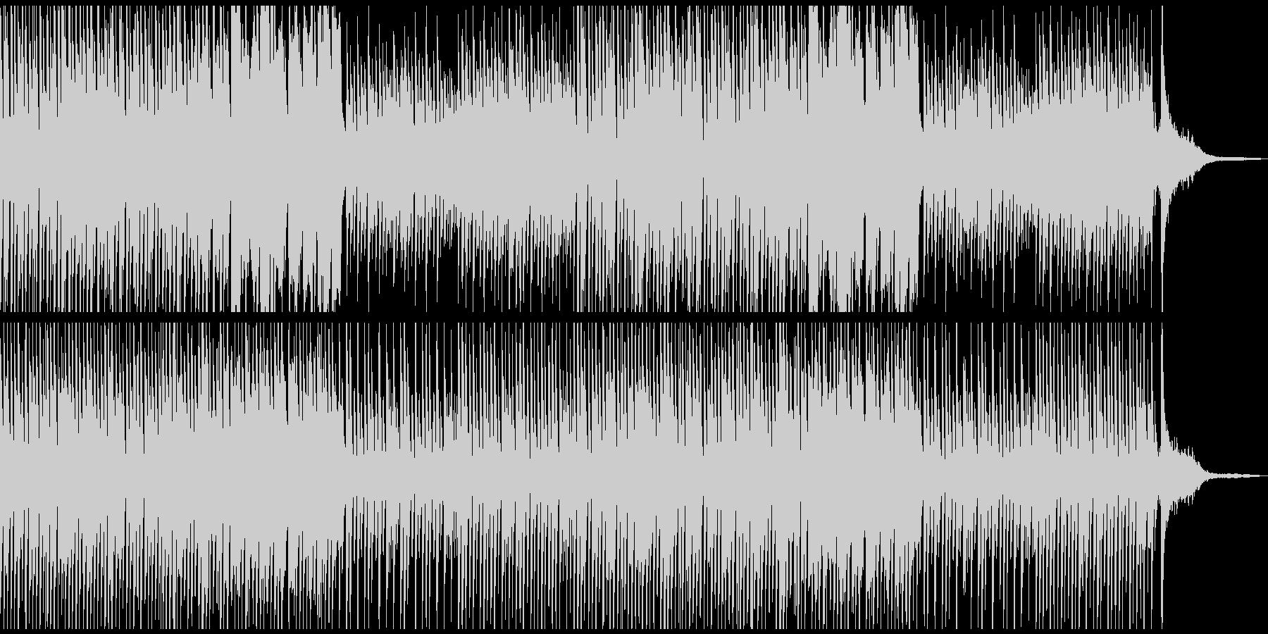 おしゃれなBGMかわいいCM コーラス抜の未再生の波形