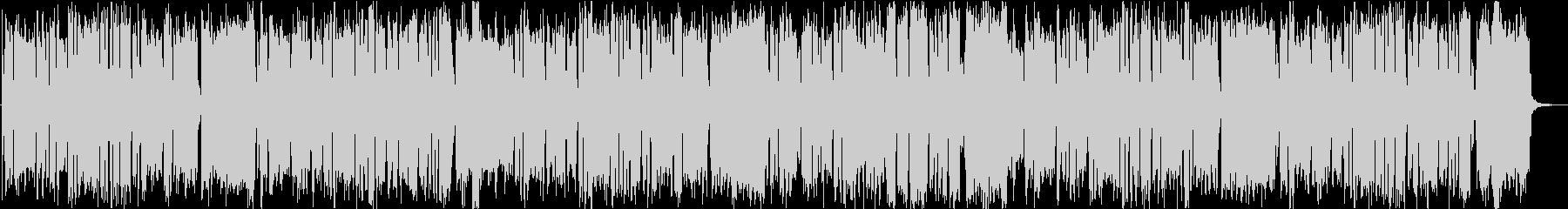 ビッグバンド風BGMの未再生の波形