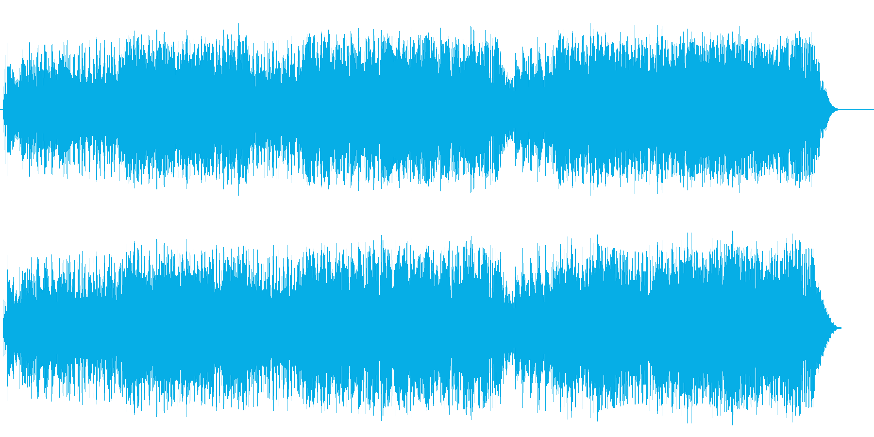 爽やかではつらつなミディアム・ポップスの再生済みの波形