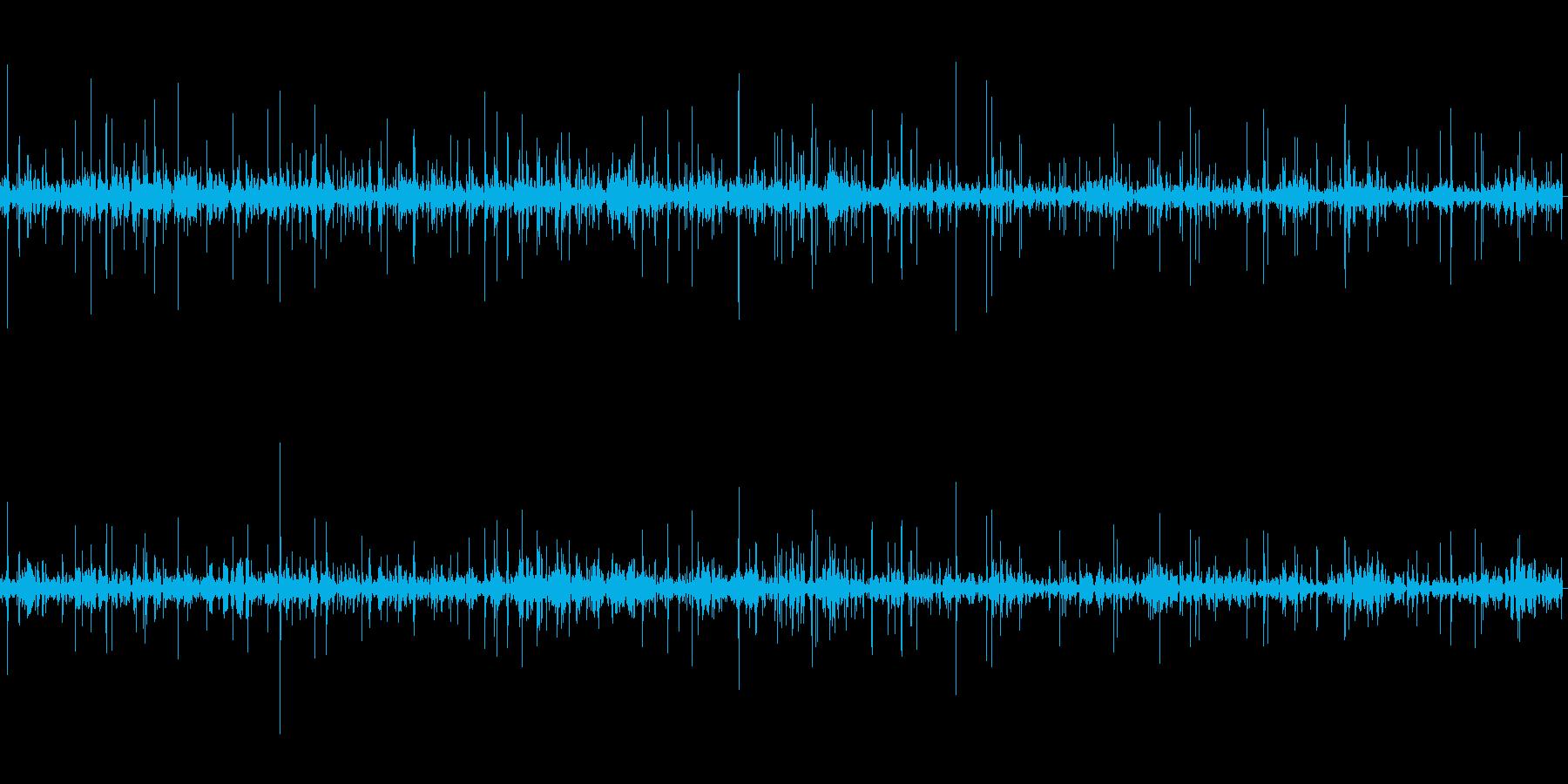 ボトボト(水が溜まっていく音)の再生済みの波形