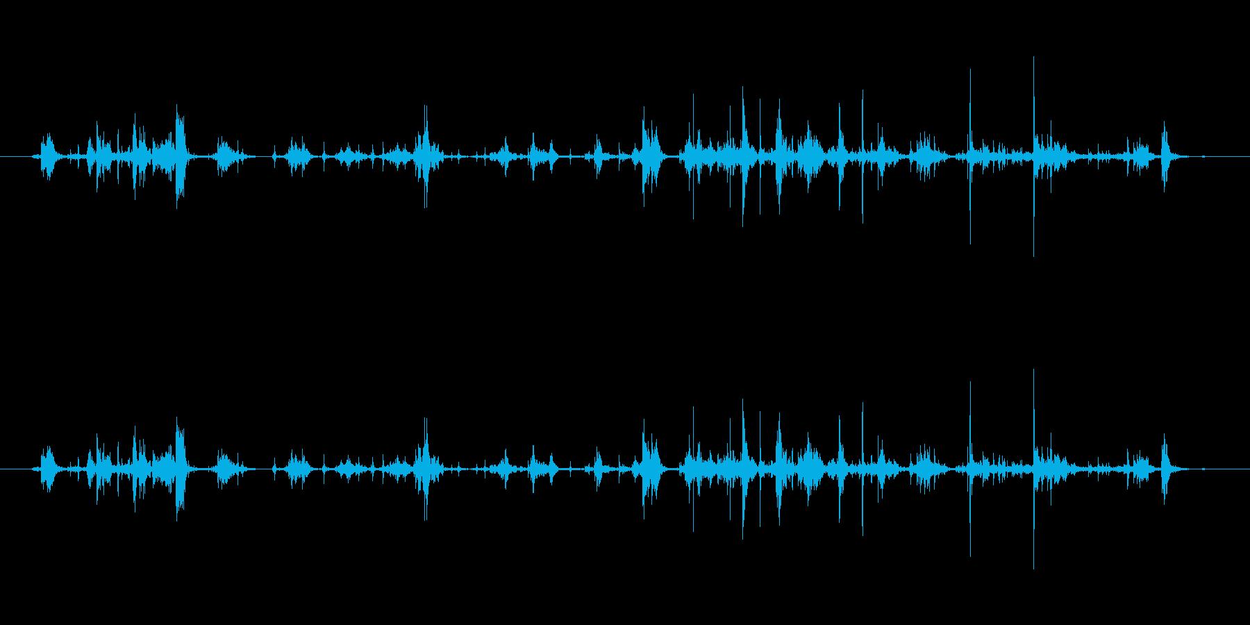 【本03-5(パラパラ)】の再生済みの波形