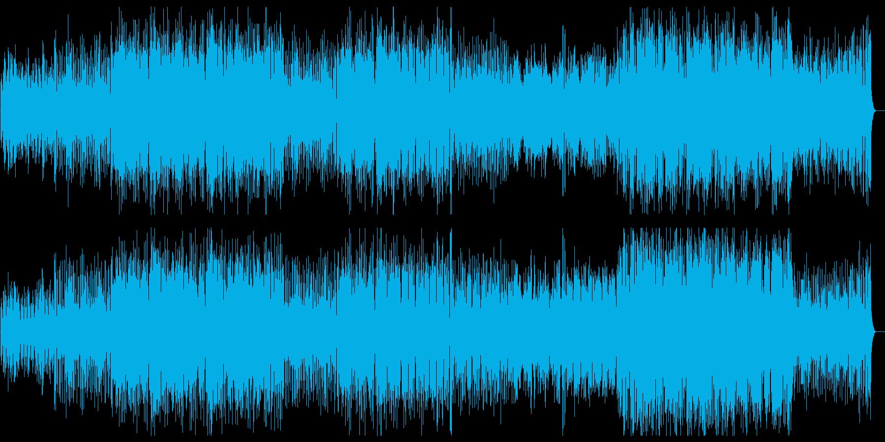 レトロなラテン系イージーリスニングの再生済みの波形