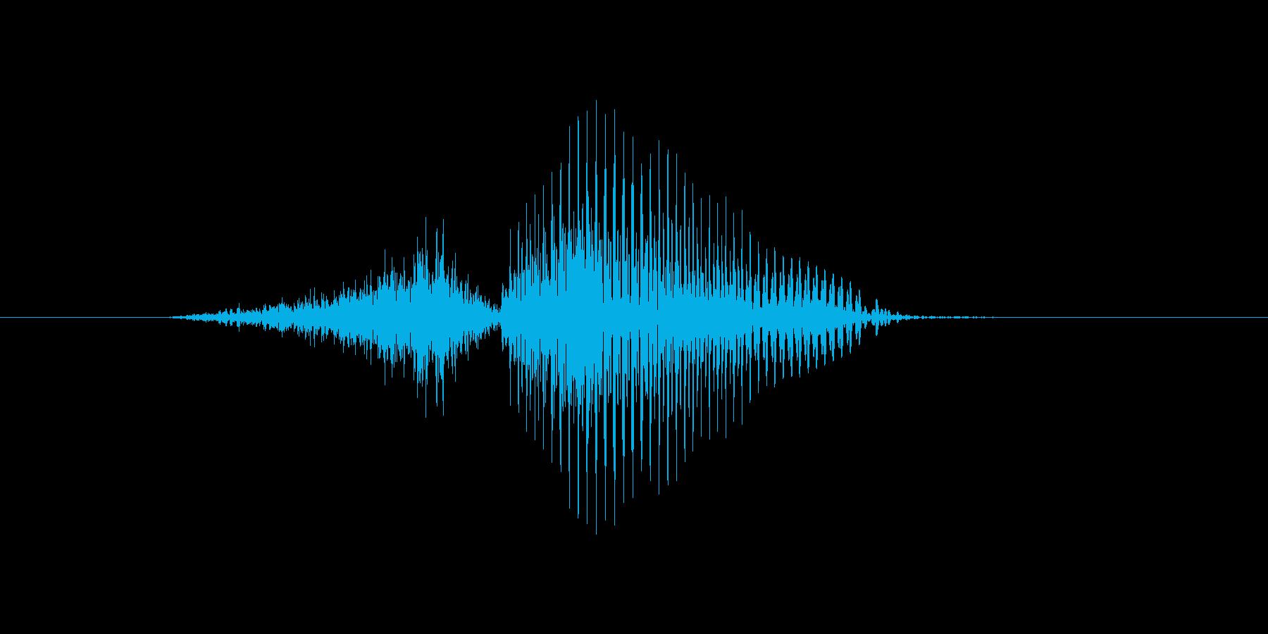 3(3、さん)の再生済みの波形