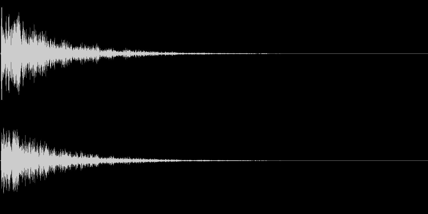 グゥア~ンの未再生の波形
