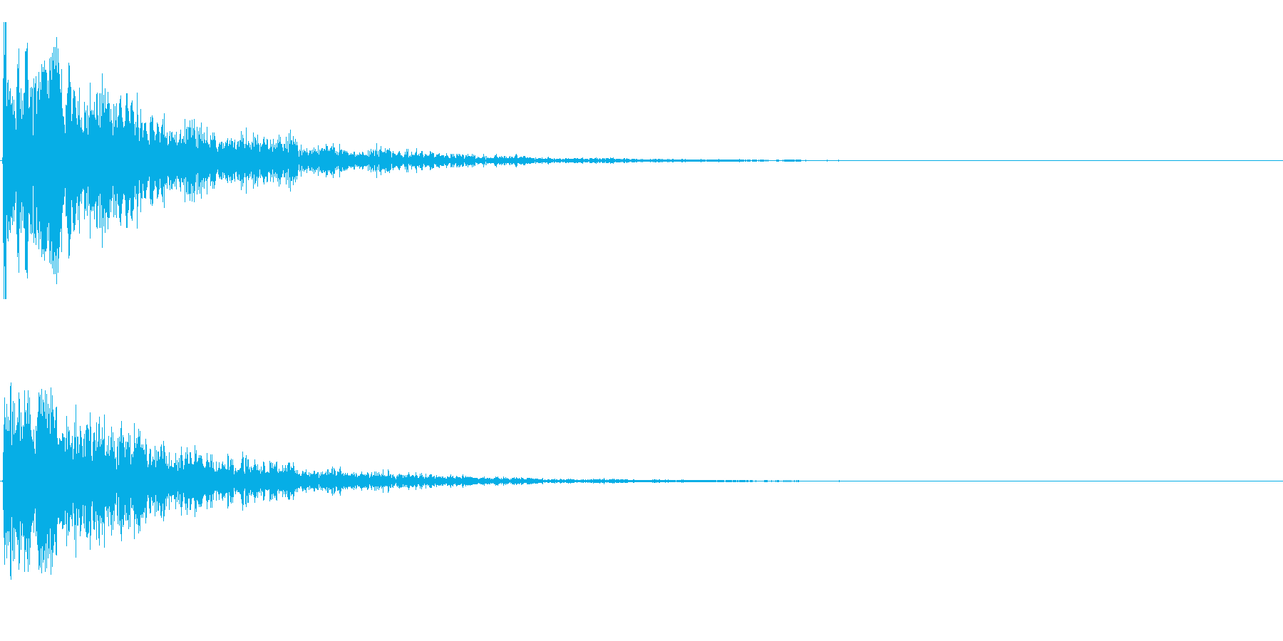 グゥア~ンの再生済みの波形