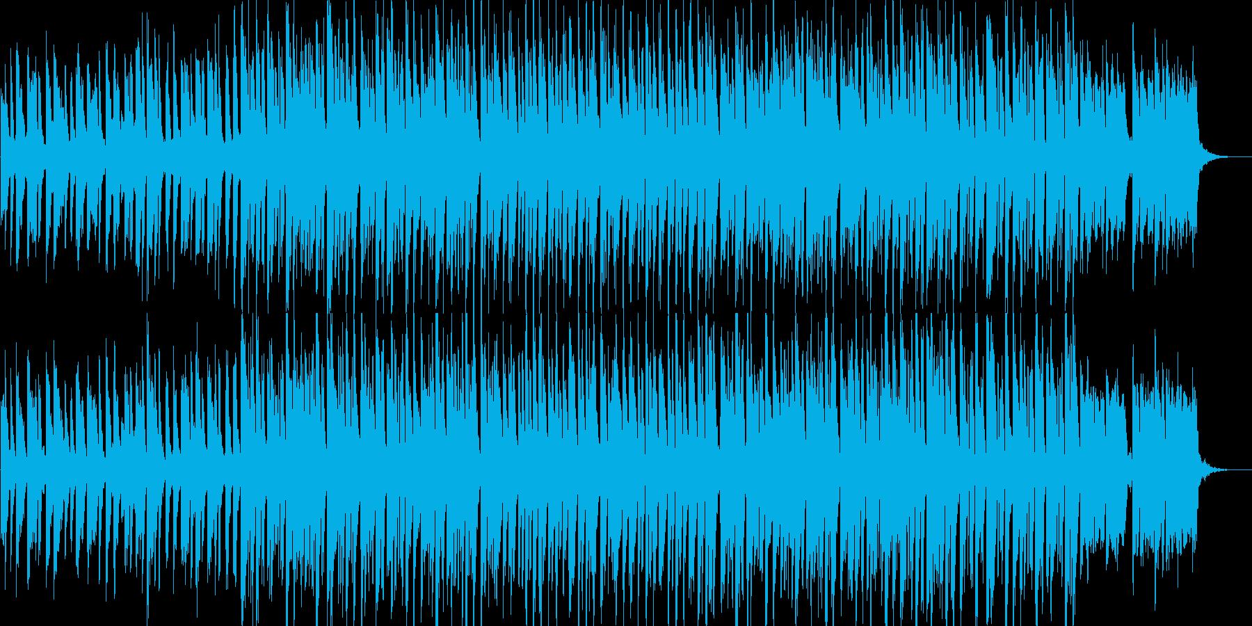 軽快・クール・爽やか・エレクトロニカの再生済みの波形