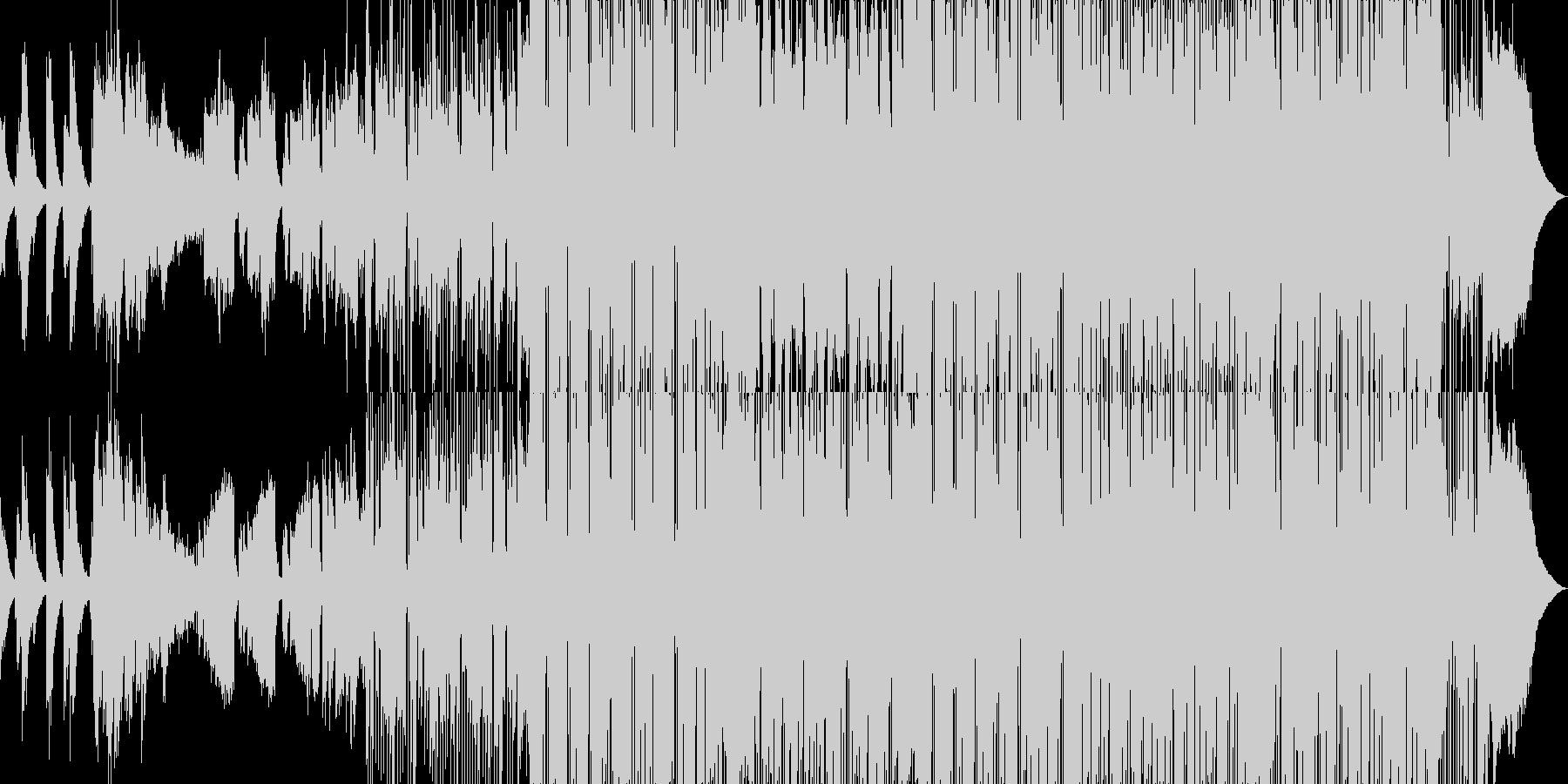 エレピが印象的なスイングポップの未再生の波形