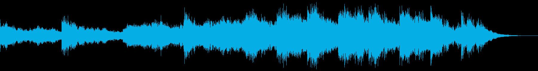 暗く迫力のある独特な雰囲気で歌のような曲の再生済みの波形