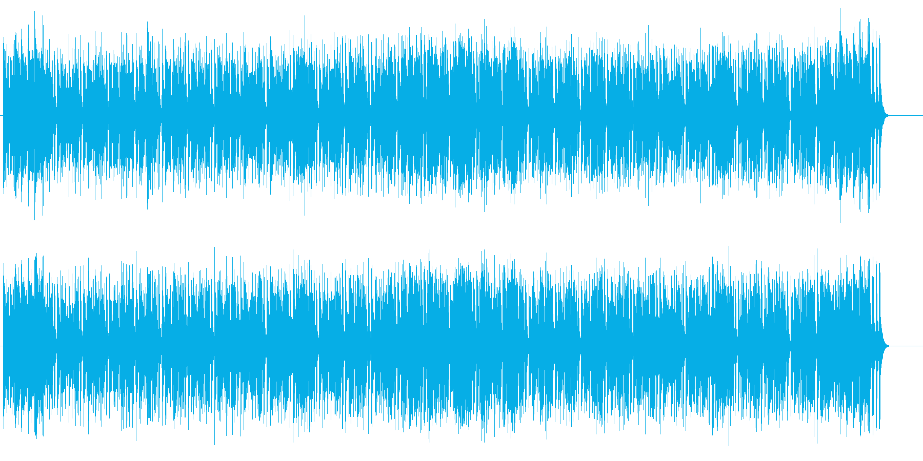リズミックで爽やかなスタンダードポップスの再生済みの波形