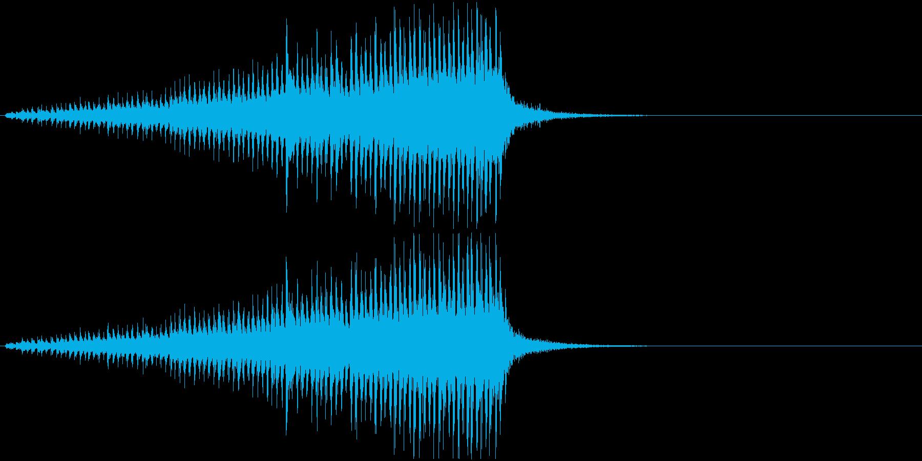 ドラムロールD(長め・シンバル無し)の再生済みの波形