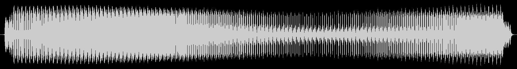 プョォー。クイズ不正解・ブザー音の未再生の波形