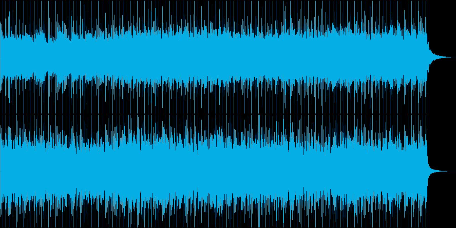 70年代的な感じのロックオリジナルです。の再生済みの波形