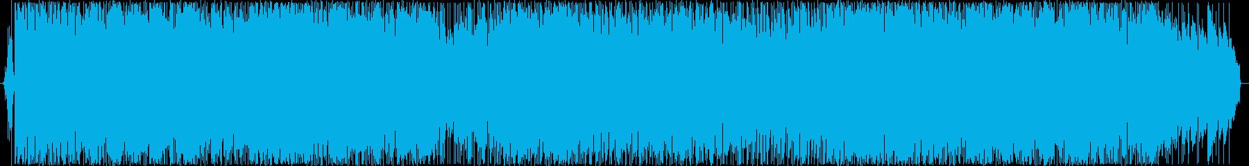 80年代アイドル歌謡漂うさわやかBGMの再生済みの波形