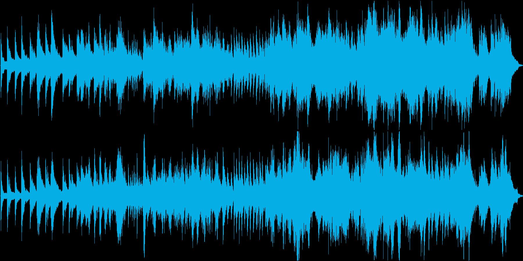 宝石のような音楽です ピアノ現代音楽の再生済みの波形