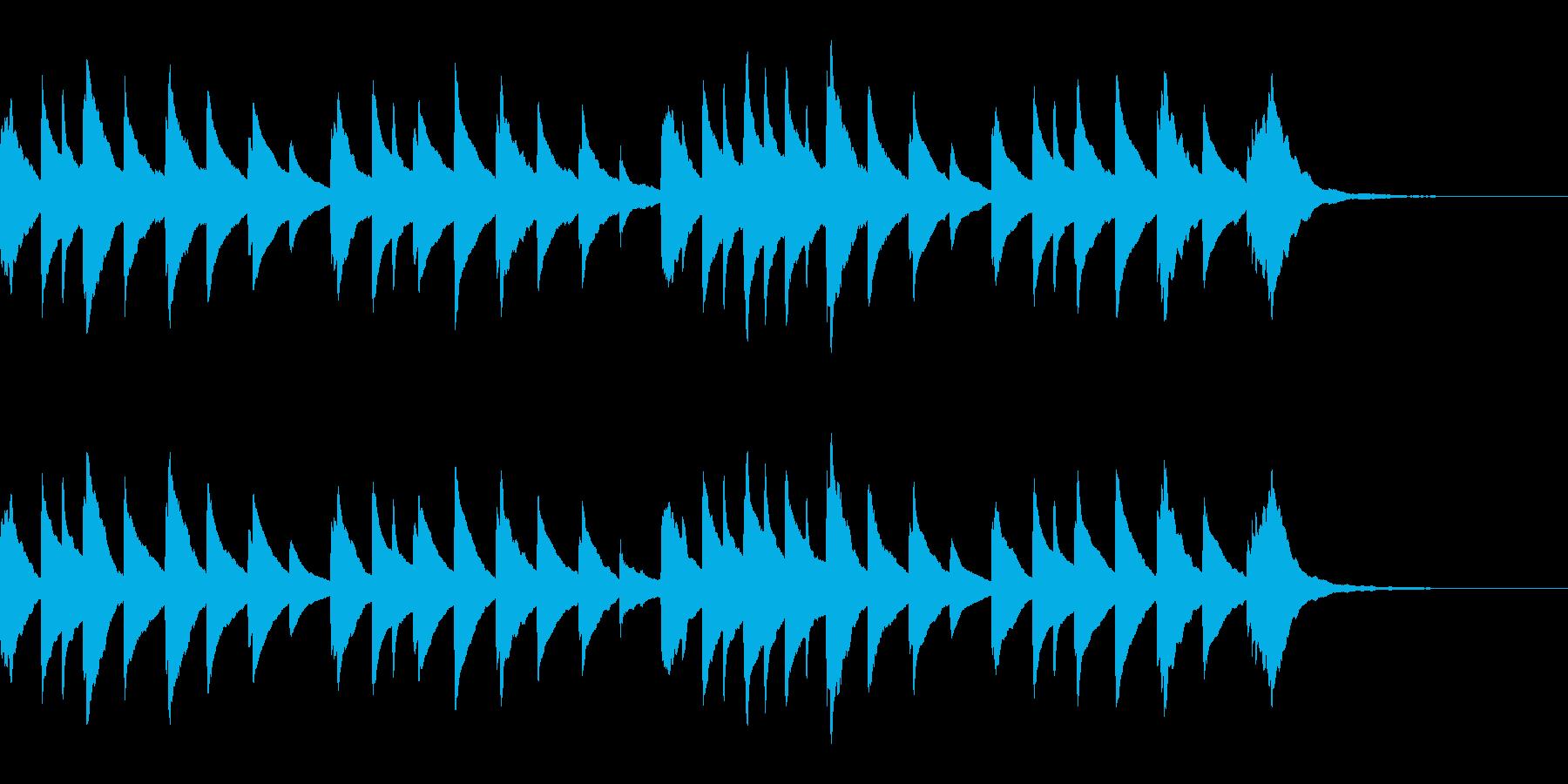 ベビー用オルゴール 5 Monkeysの再生済みの波形
