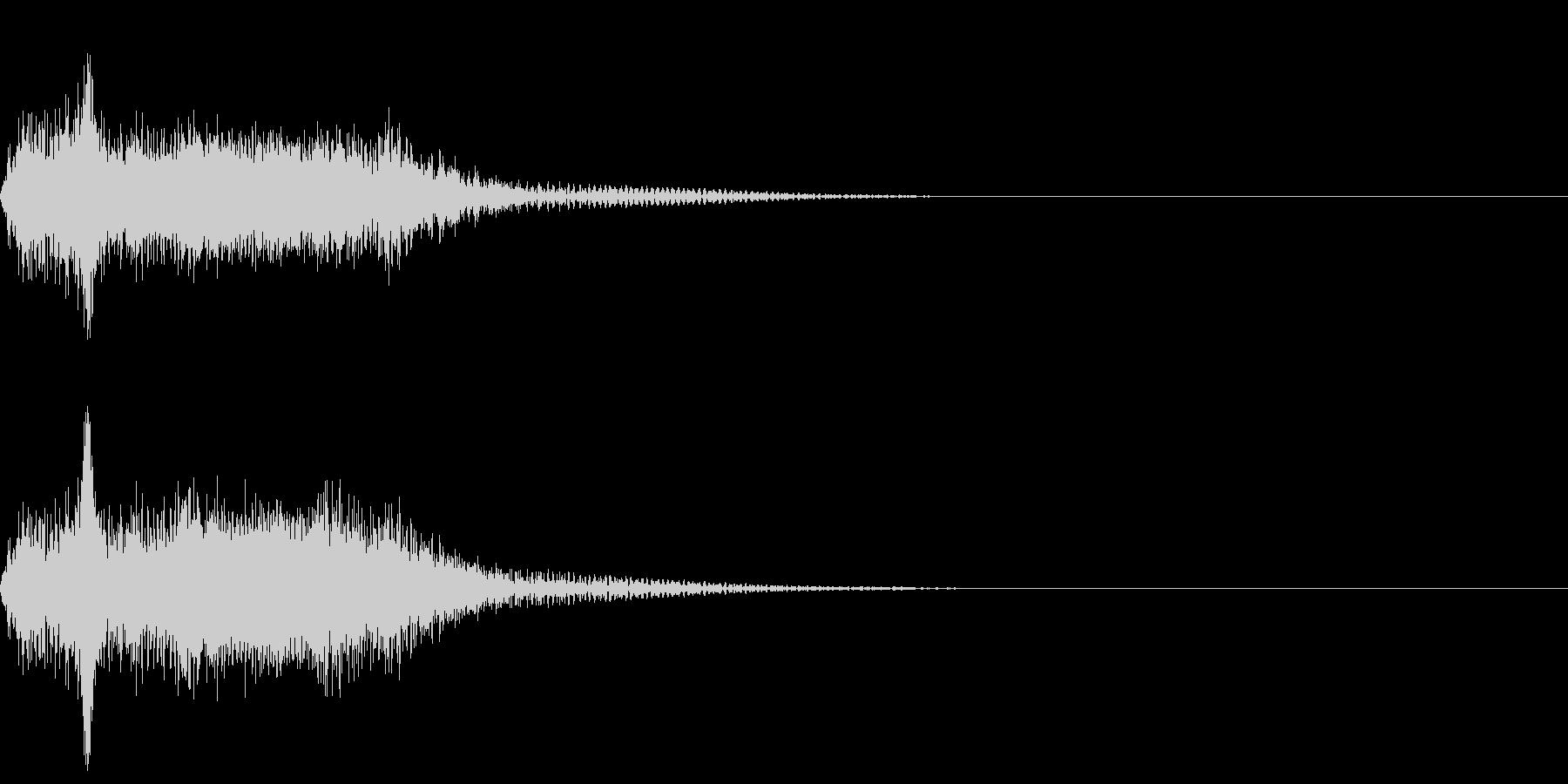 ショット_その6の未再生の波形