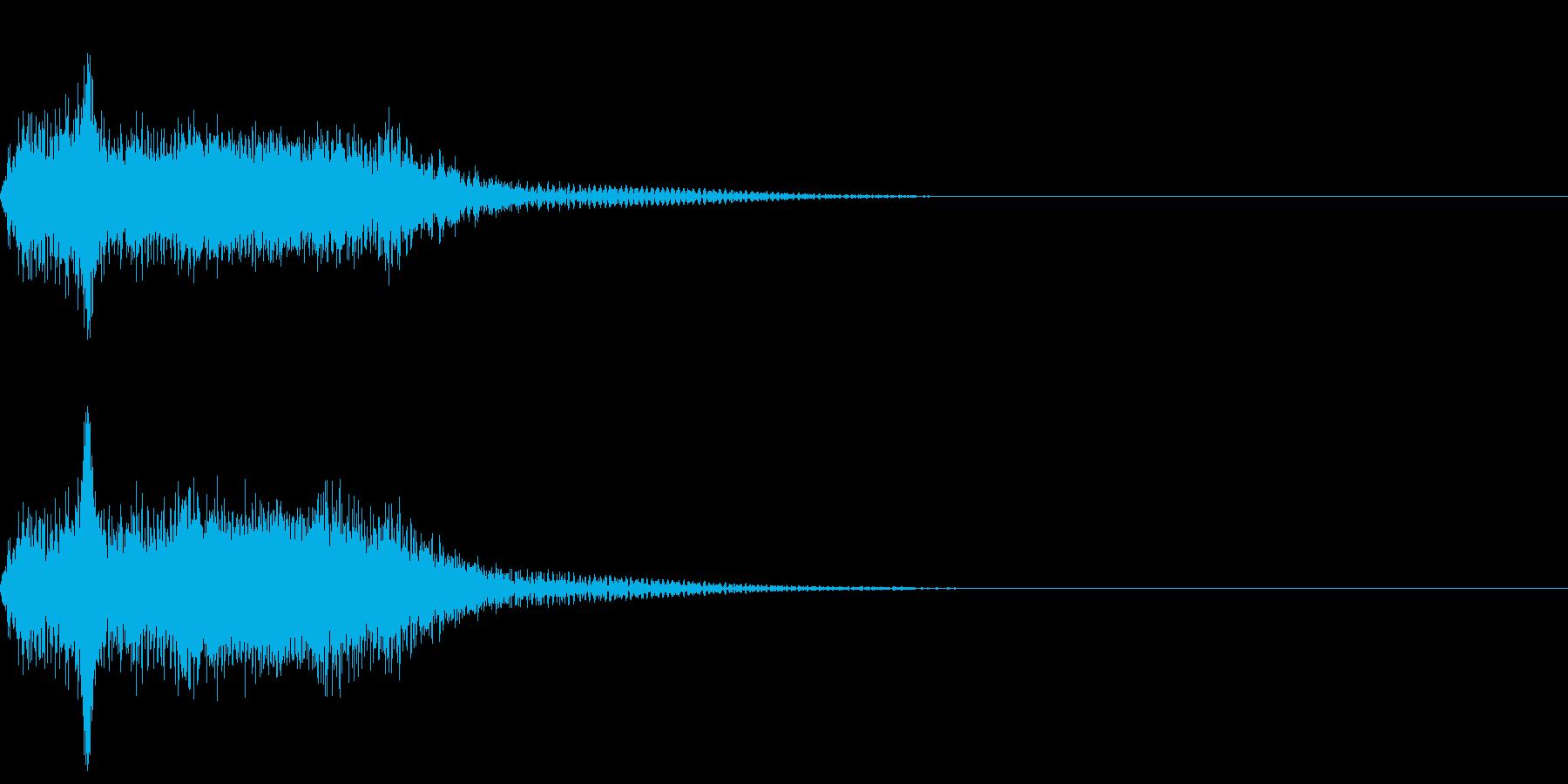 ショット_その6の再生済みの波形