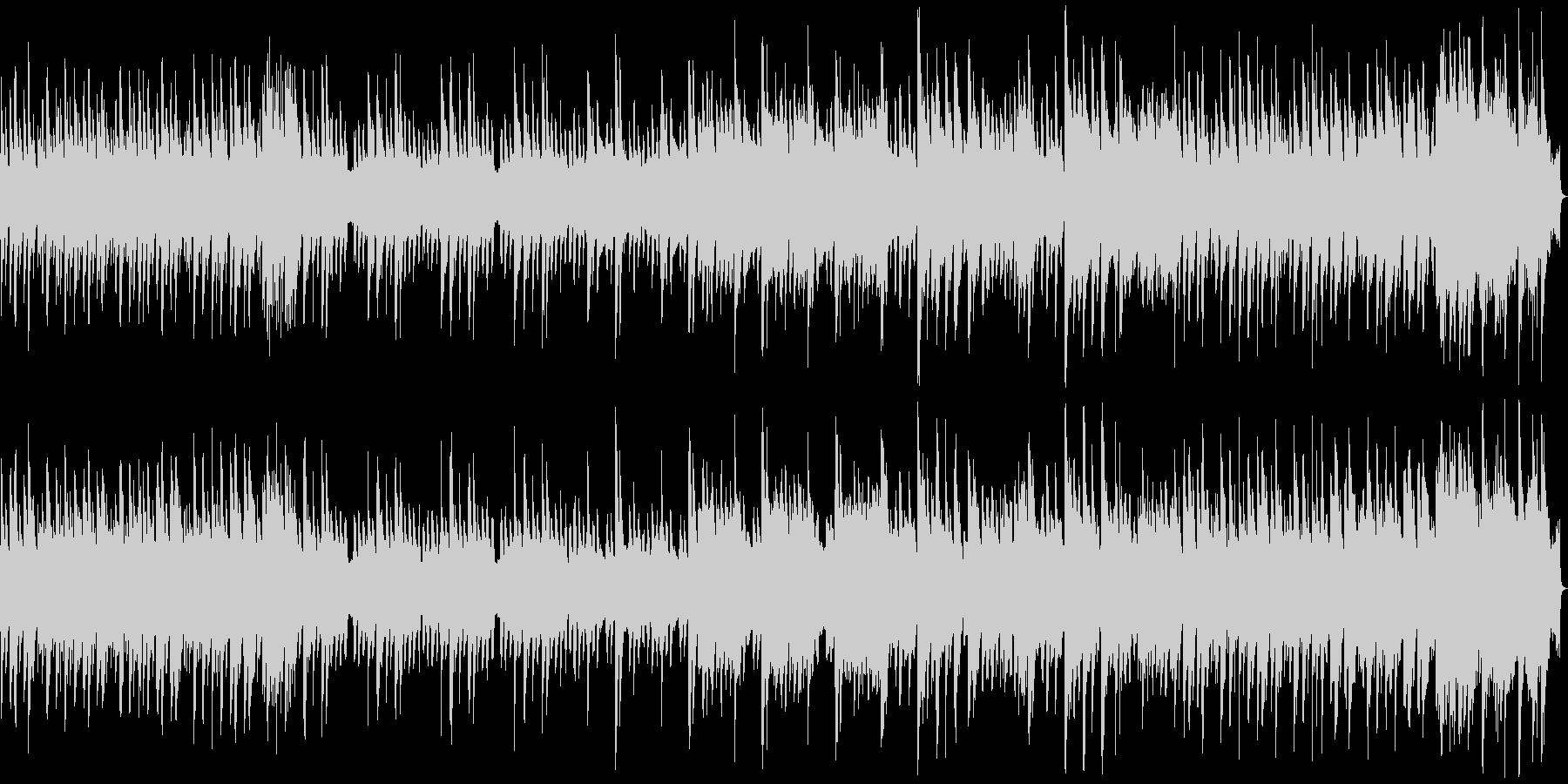 8bit ポップな宇宙空間 1コーラス版の未再生の波形