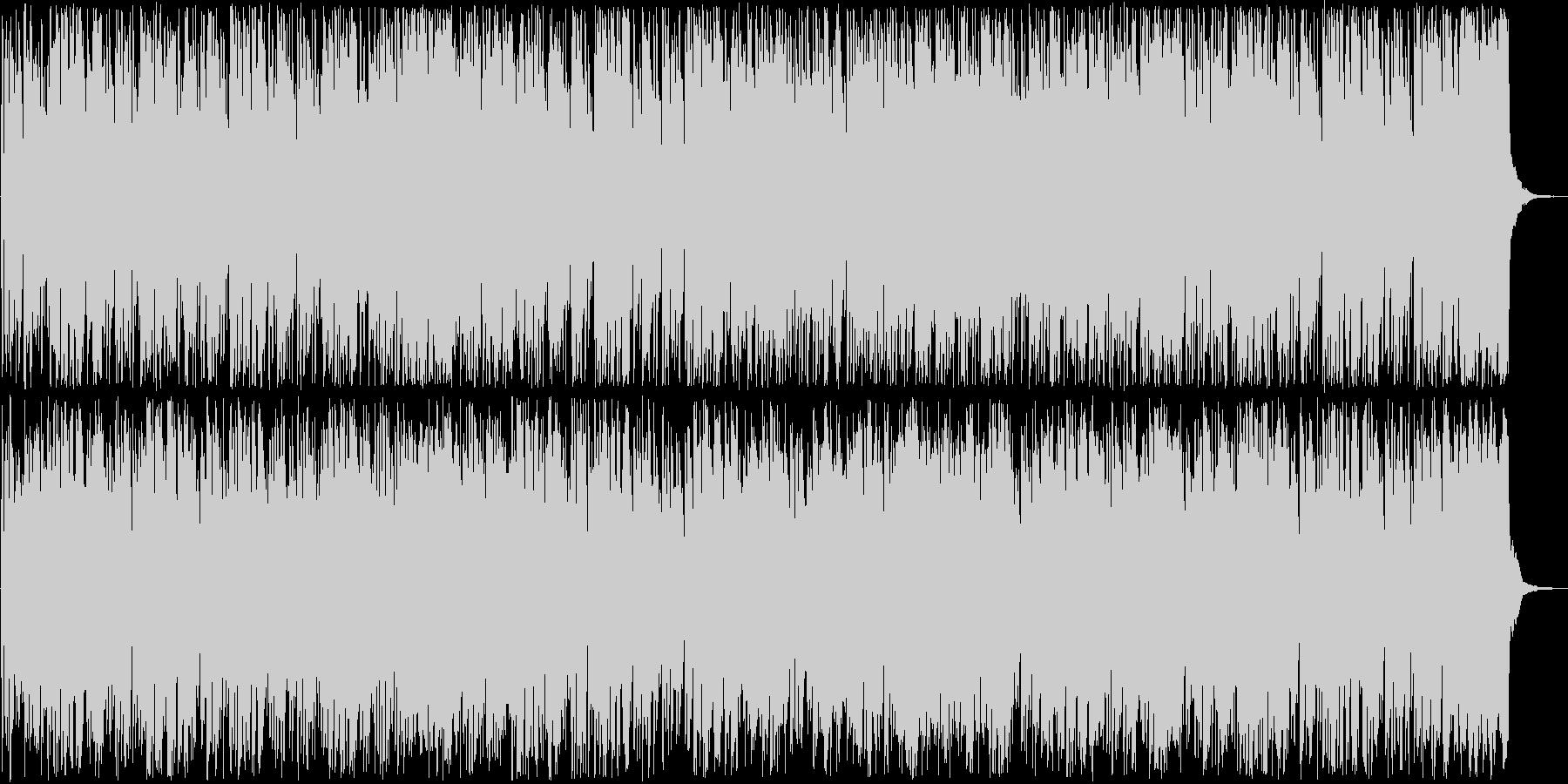 楽しげなトランペット打楽器ラテン系の未再生の波形