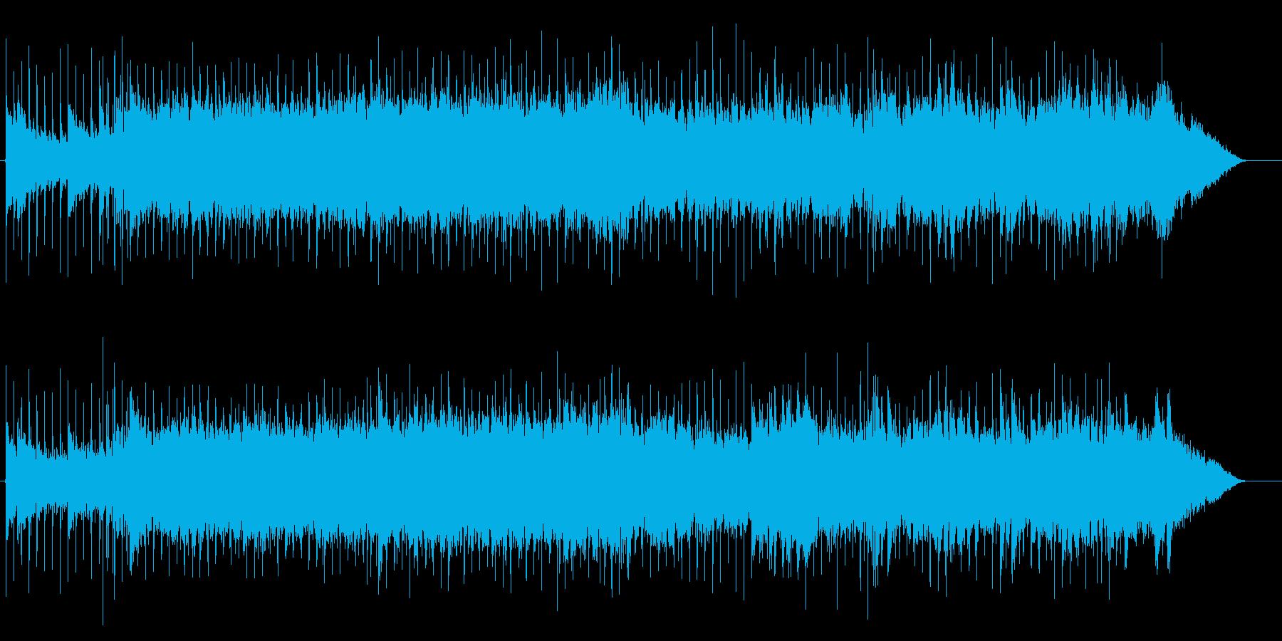 スピード感のあるデジタルロック。の再生済みの波形
