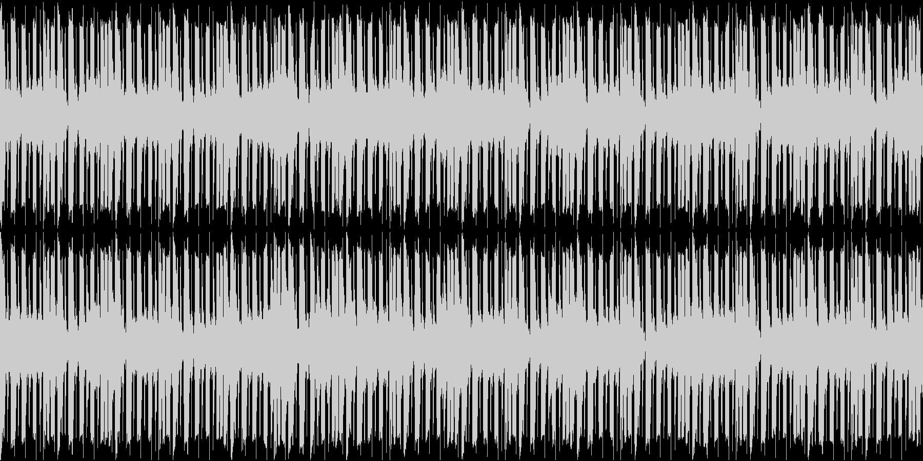 アーバンな雰囲気のループBGMの未再生の波形