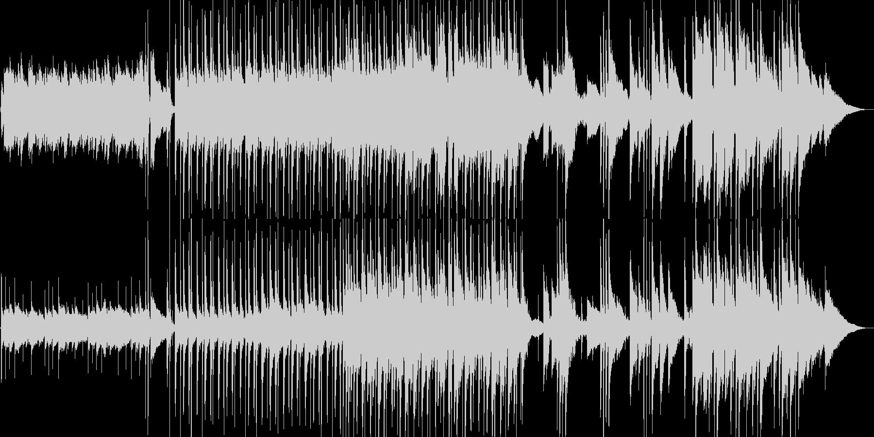 RPGの街で流れるギターの音色が優しい曲の未再生の波形