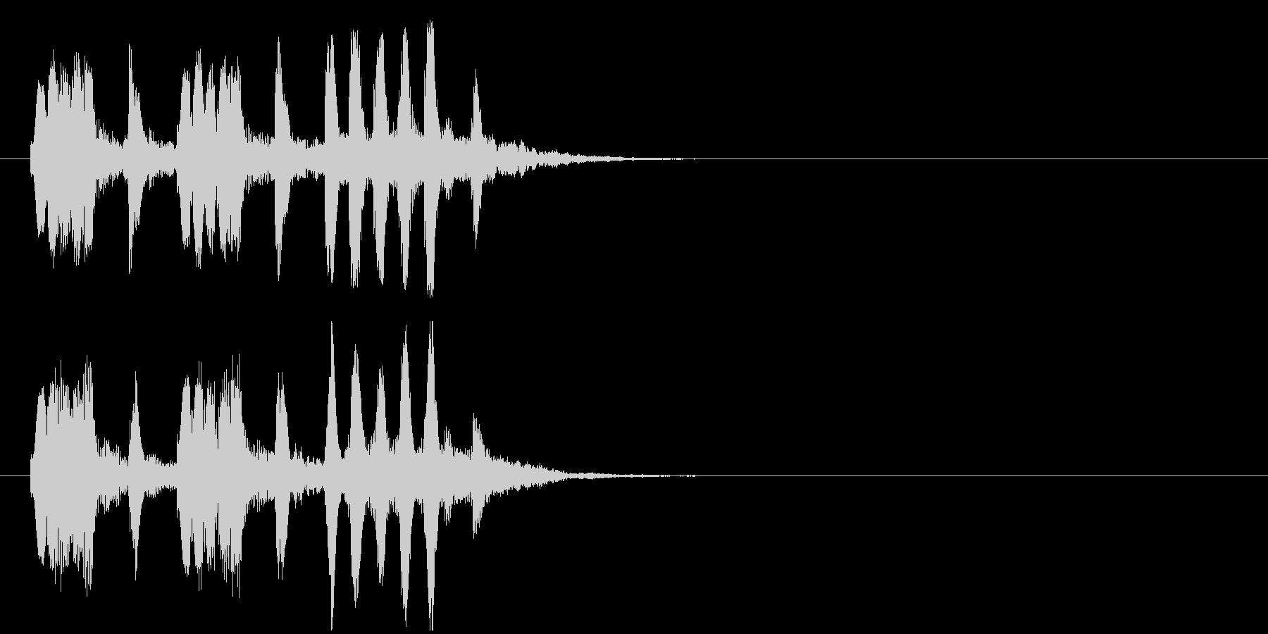 クイズ ほのぼの メルヘン コミカルの未再生の波形