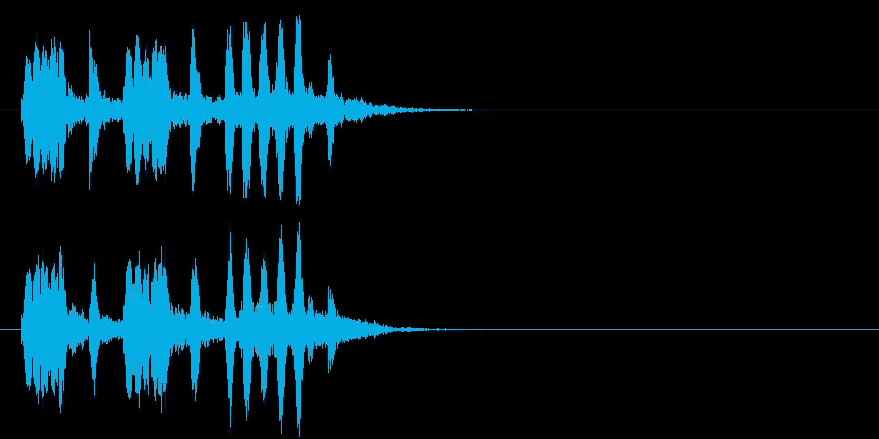クイズ ほのぼの メルヘン コミカルの再生済みの波形