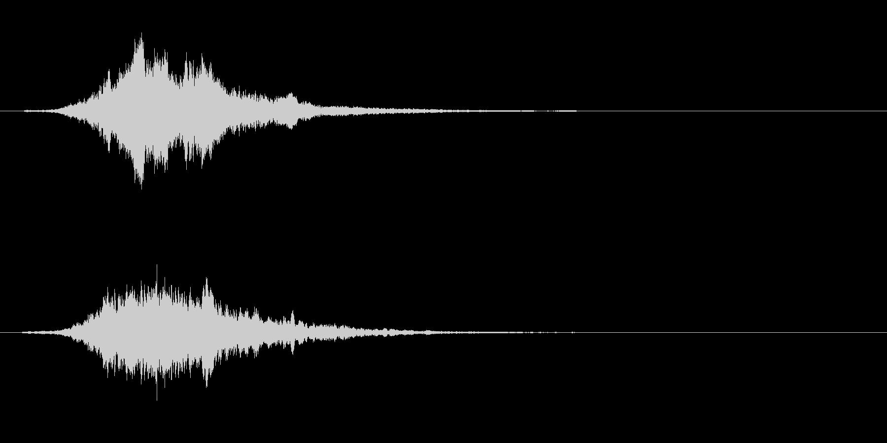 ホラー系のPad(恐怖演出)の未再生の波形