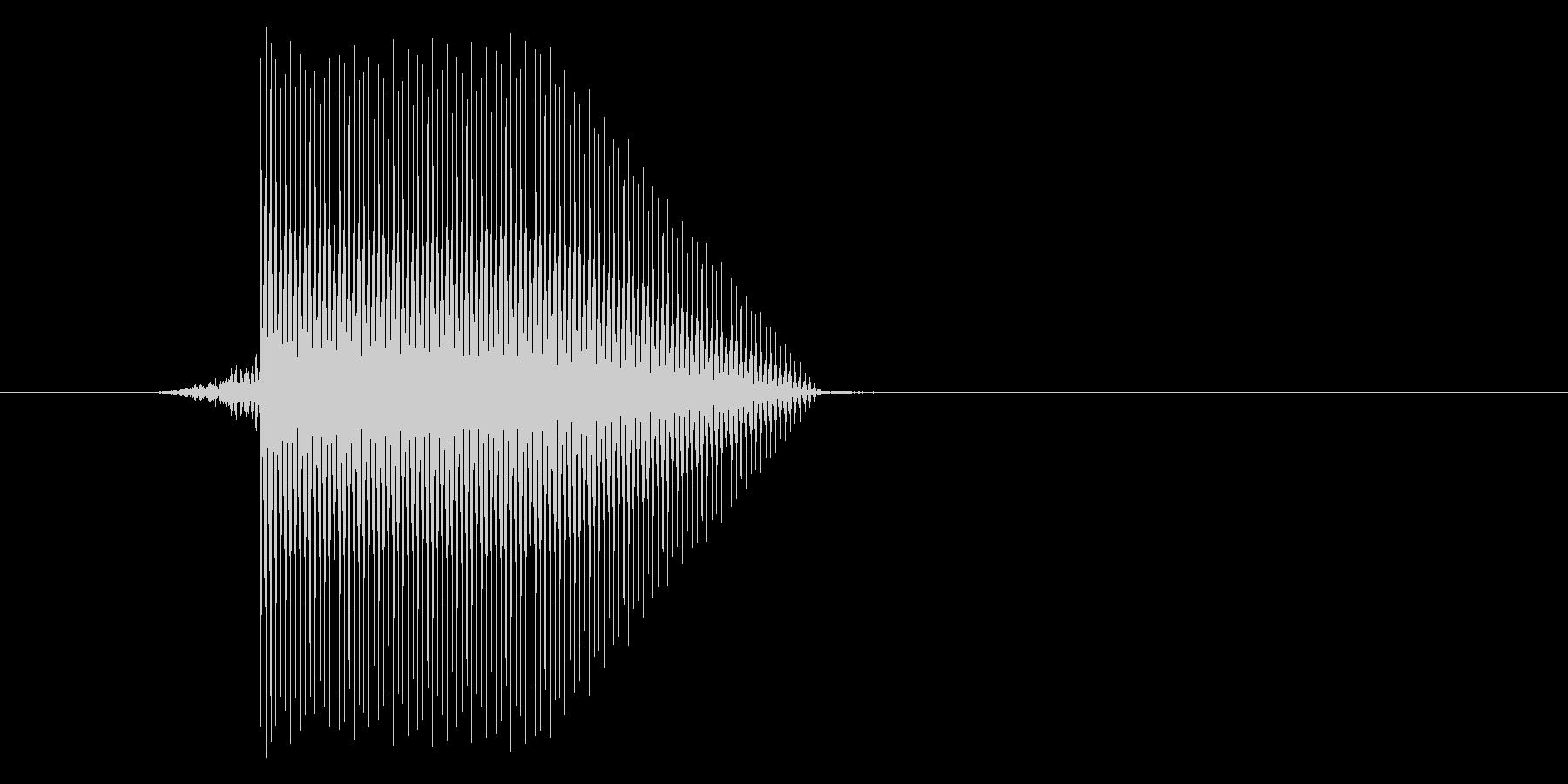 ゲーム(ファミコン風)セレクト音_021の未再生の波形