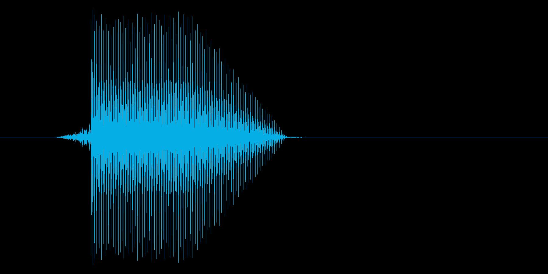 ゲーム(ファミコン風)セレクト音_021の再生済みの波形
