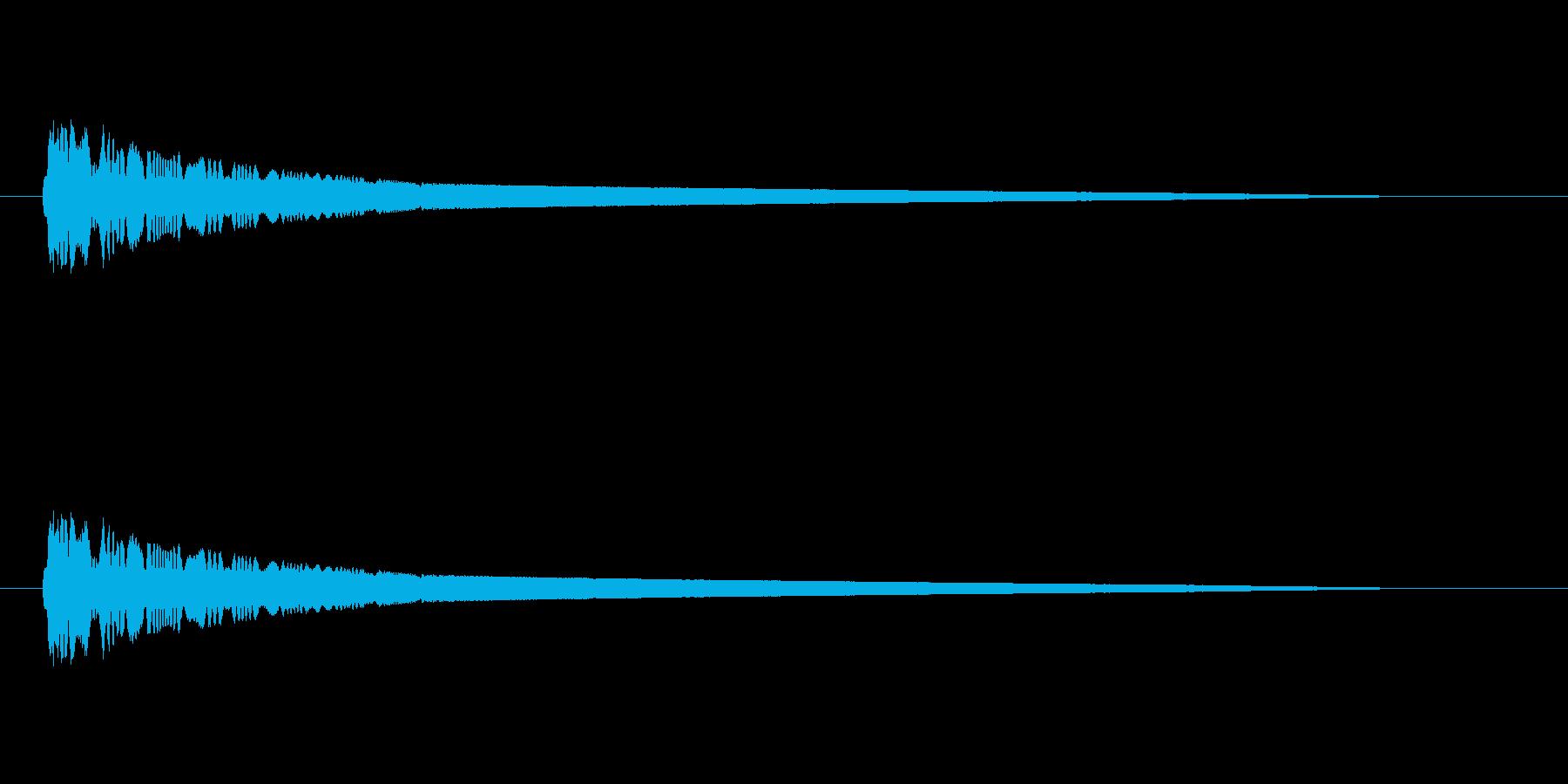 【ネガティブ07-3】の再生済みの波形