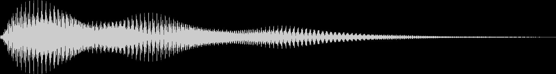 [プッ]カーソル移動/決定音/02の未再生の波形