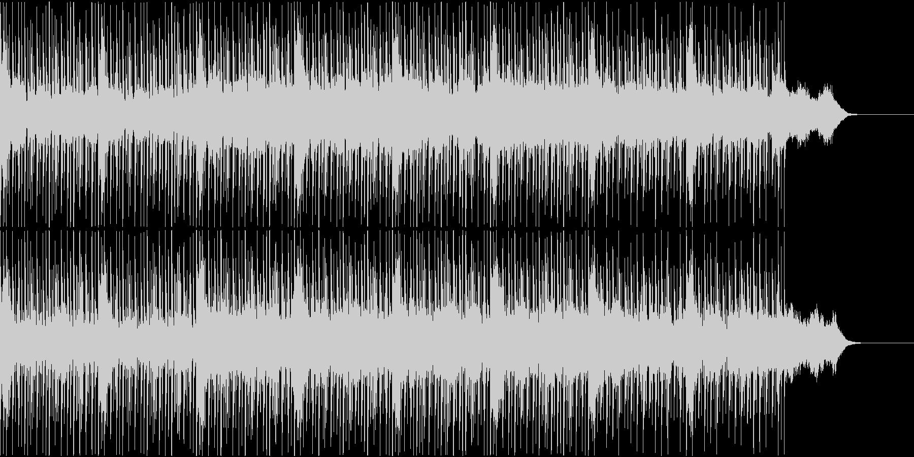 宇宙的なエレクトロ調BGMの未再生の波形