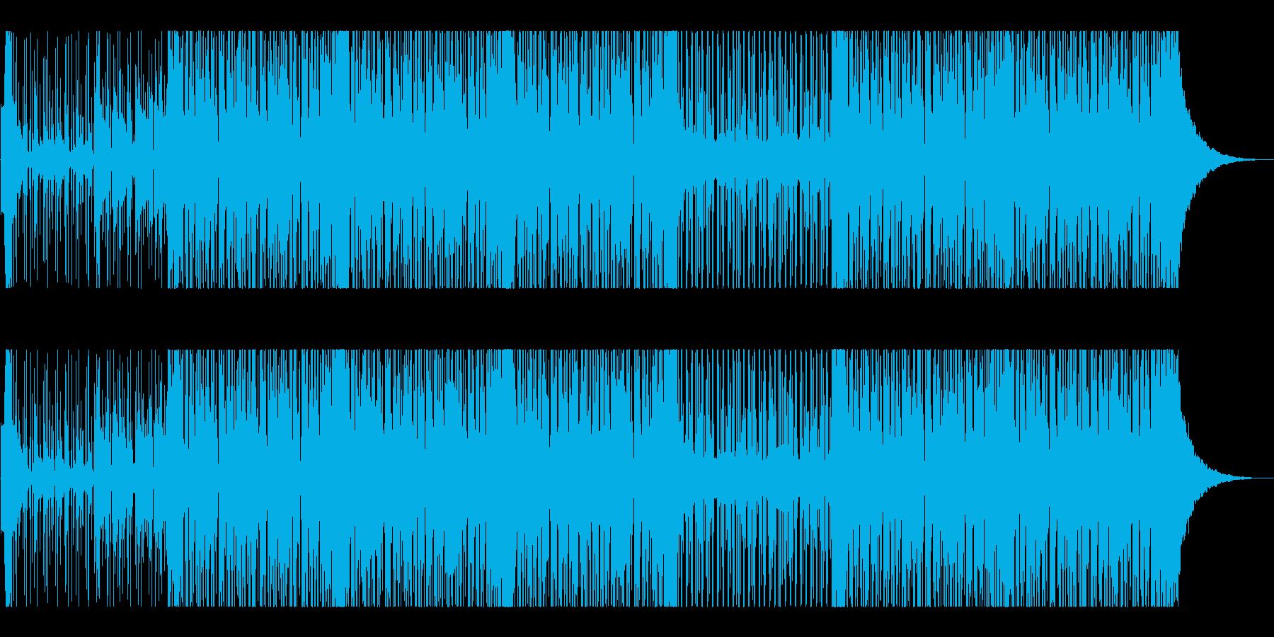 マリンバ・アンビエント・エレクトロの再生済みの波形