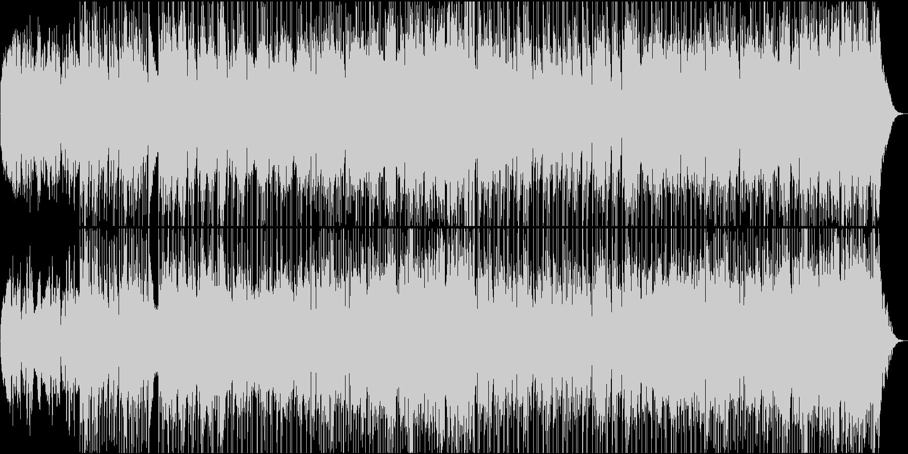 チェロとビオラゆったりカントリー楽曲の未再生の波形