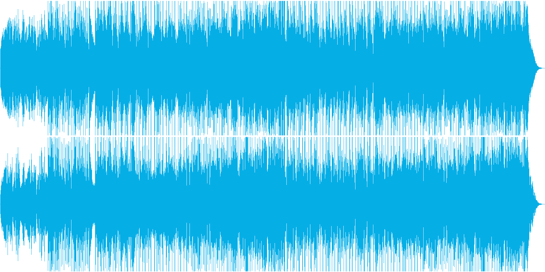 チェロとビオラゆったりカントリー楽曲の再生済みの波形