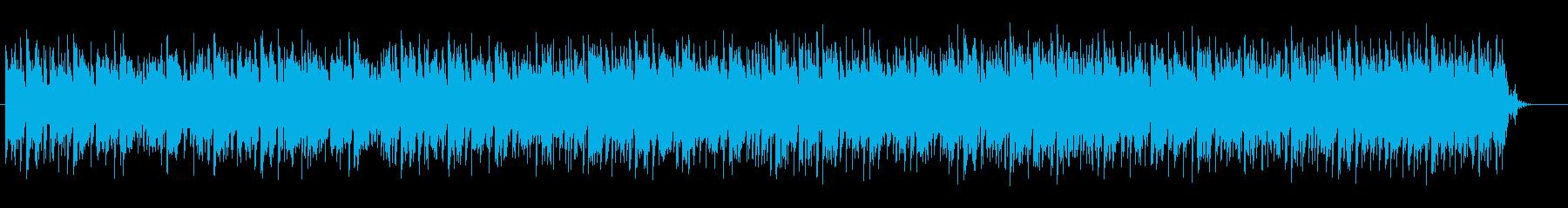 浮遊感がある宇宙的なサウンドの再生済みの波形