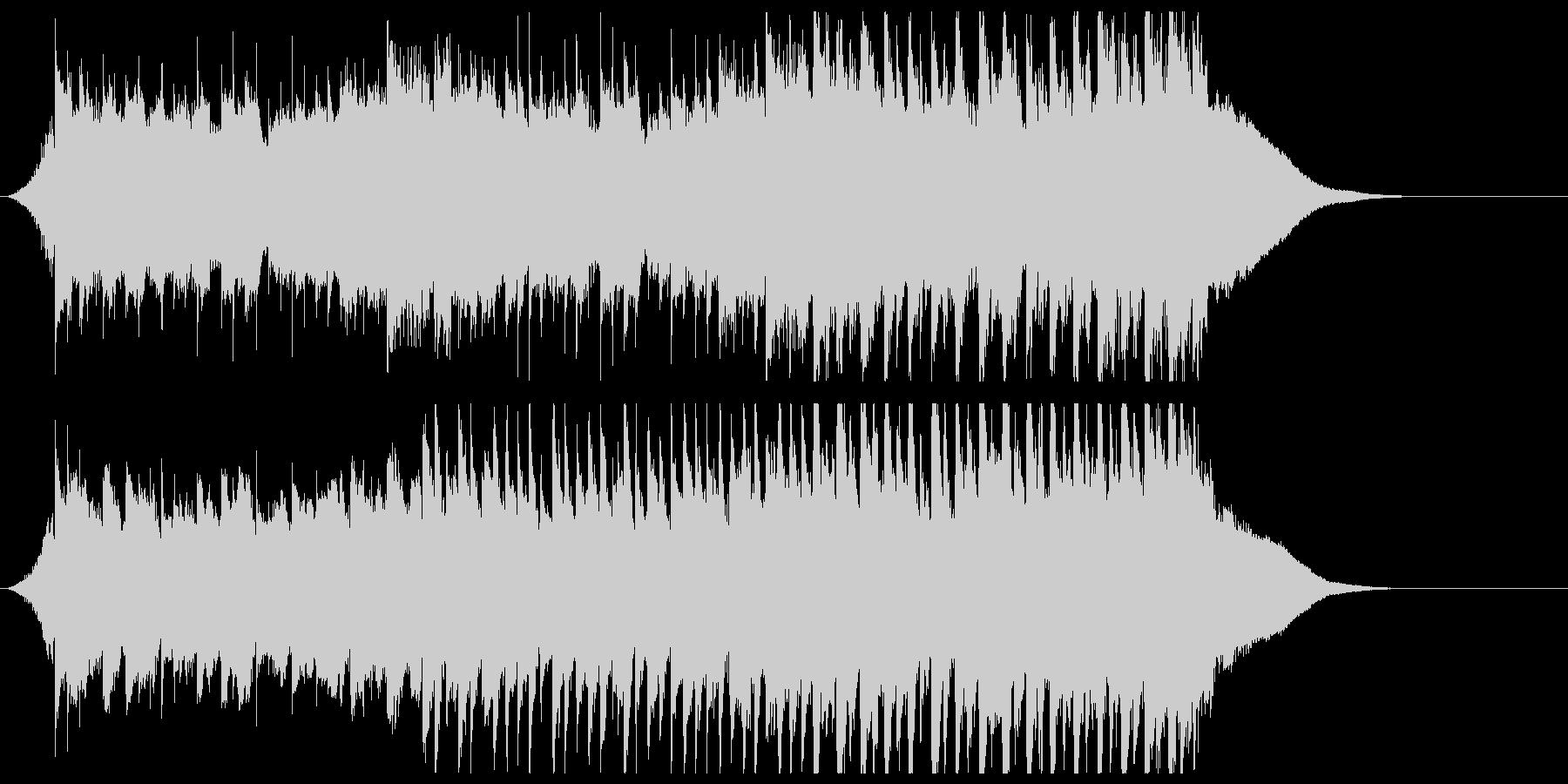企業VP系ジングル ピアノで気分高まるの未再生の波形